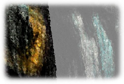 glassy cave