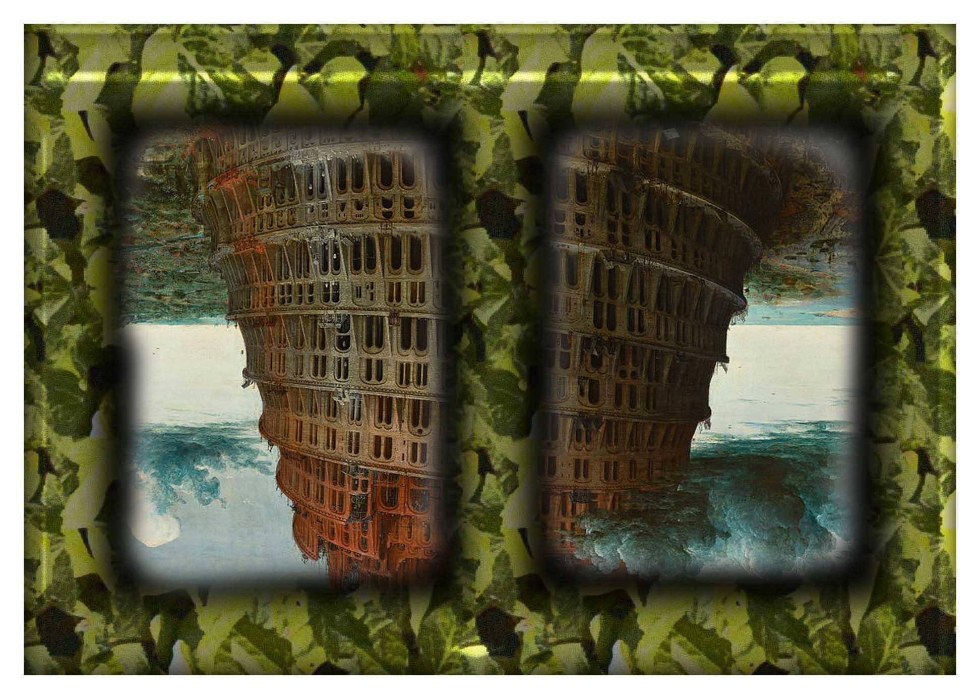 frame brueghel upsidd down