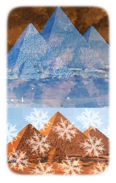 ice pyramids?