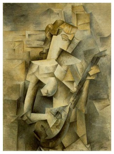 PabloPicasso-Girl-with-Mandolin-Fanny-Tellier-1910